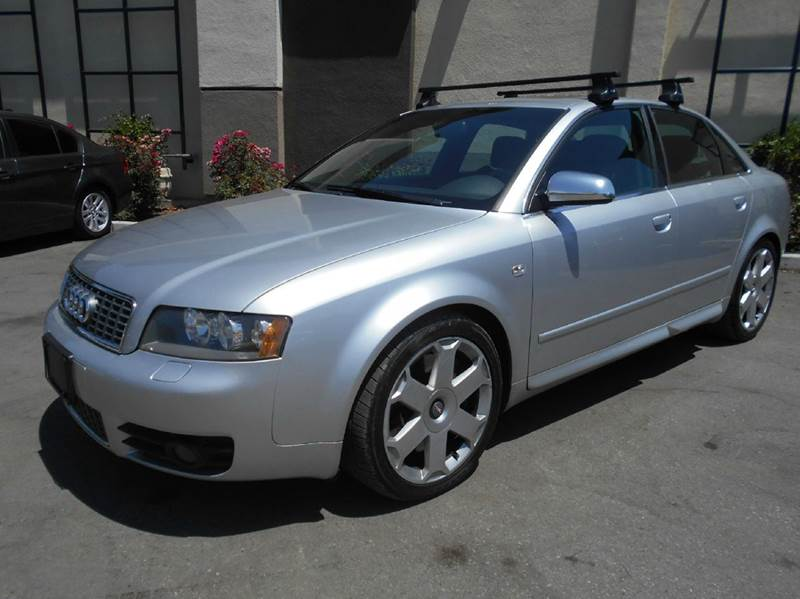 2004 AUDI S4 QUATTRO AWD 4DR SEDAN silver abs - 4-wheel anti-theft system - alarm center consol