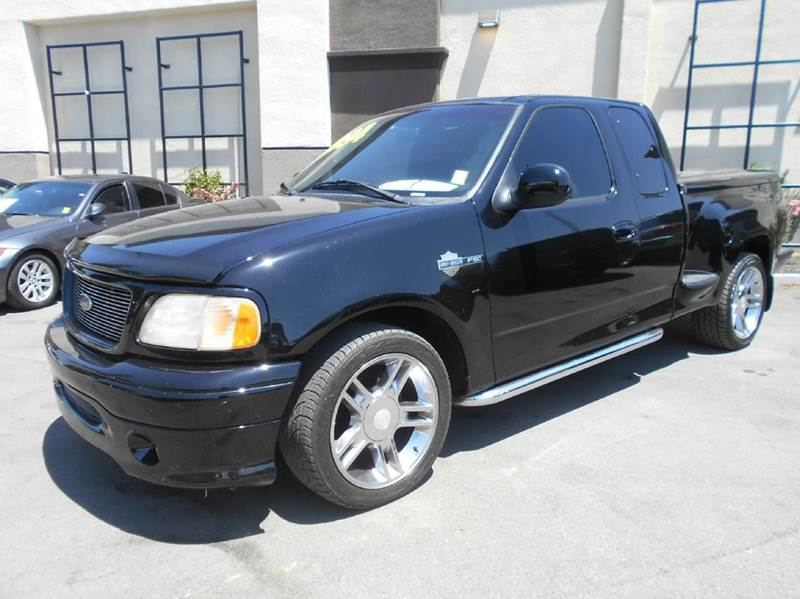 2000 FORD F-150 HARLEY DAVIDSON 4DR EXTENDED CAB black abs - 4-wheel anti-theft system - alarm