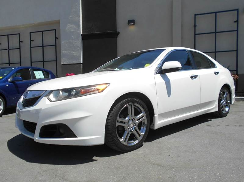 2009 ACURA TSX BASE 4DR SEDAN 6M white 2-stage unlocking doors abs - 4-wheel air filtration ai