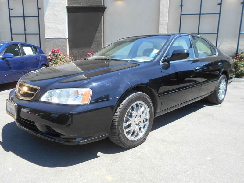 2000 ACURA TL 32 4DR SEDAN black abs - 4-wheel anti-theft system - alarm cassette center cons