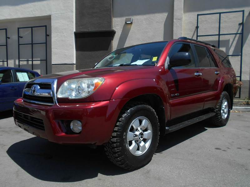 2007 TOYOTA 4RUNNER SPORT EDITION 4DR SUV 4WD V6 red 2-stage unlocking doors 4wd selector - elec