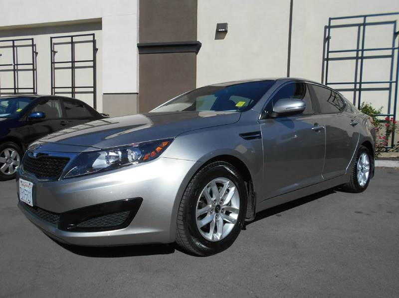 2011 KIA OPTIMA LX 4DR SEDAN 6A silver 2-stage unlocking doors abs - 4-wheel active head restra