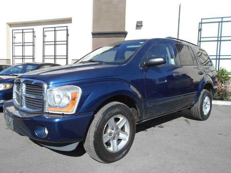 2005 DODGE DURANGO SLT 4WD 4DR SUV blue 4wd type - full time abs - 4-wheel axle ratio - 355 c