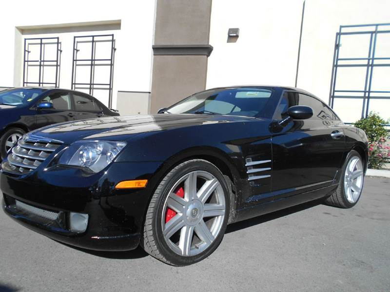 2004 CHRYSLER CROSSFIRE BASE 2DR SPORTS COUPE black abs - 4-wheel anti-theft system - alarm cen