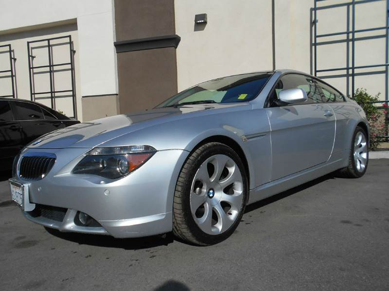 2005 BMW 6 SERIES 645CI 2DR COUPE silver abs - 4-wheel anti-theft system - alarm center console