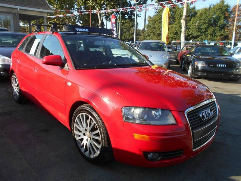 2006 AUDI A3 20T 4DR WAGON 6M red abs - 4-wheel active head restraints - dual front air filtra