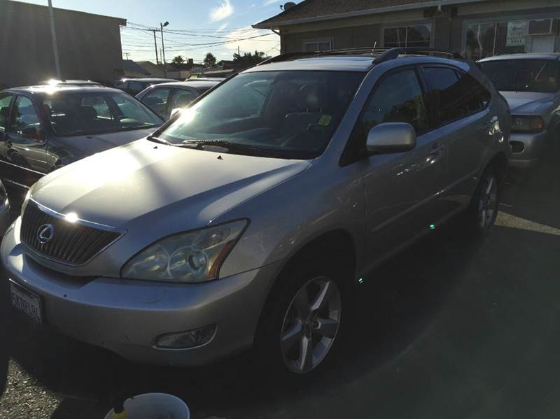 2004 LEXUS RX 330 BASE AWD 4DR SUV silver abs - 4-wheel anti-theft system - alarm cd changer c