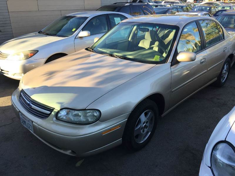 2003 CHEVROLET MALIBU LS 4DR SEDAN gold abs - 4-wheel anti-theft system - alarm center console