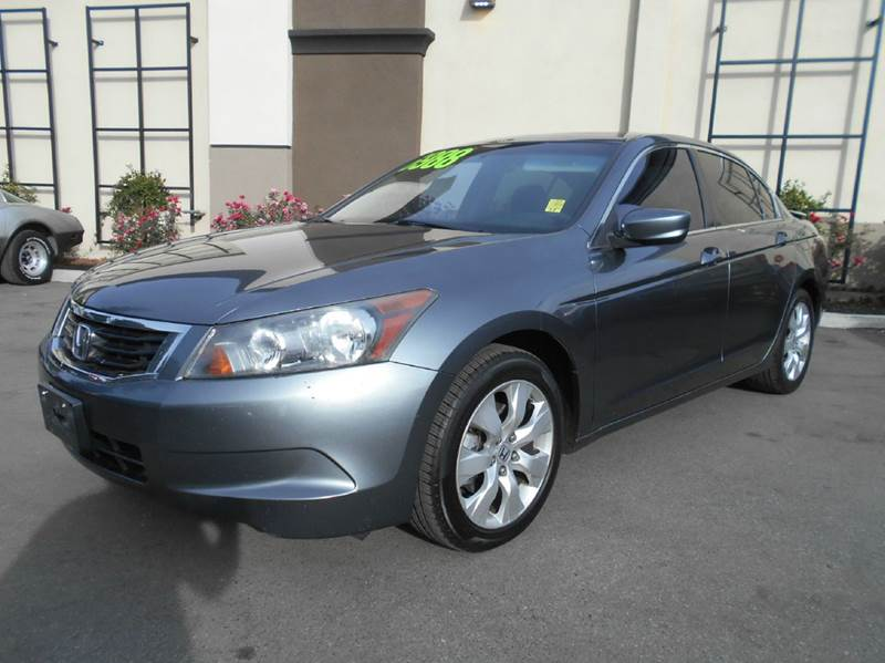 2008 HONDA ACCORD EX 4DR SEDAN 5A gray abs - 4-wheel active head restraints - dual front air fi