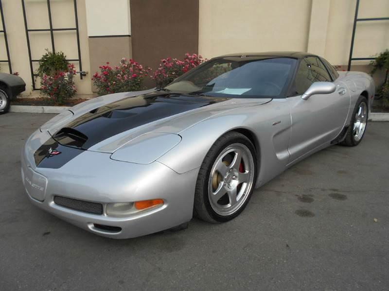 2001 CHEVROLET CORVETTE Z06 2DR COUPE silver abs - 4-wheel anti-theft system - alarm center con