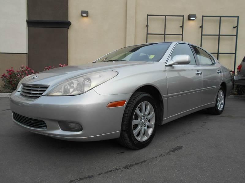 2003 LEXUS ES 300 silver 0 miles VIN JTHBE30G930146597