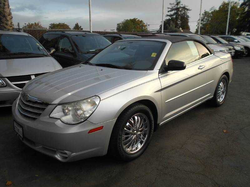 2008 CHRYSLER SEBRING LX 2DR CONVERTIBLE silver 2-stage unlocking doors abs - 4-wheel airbag de