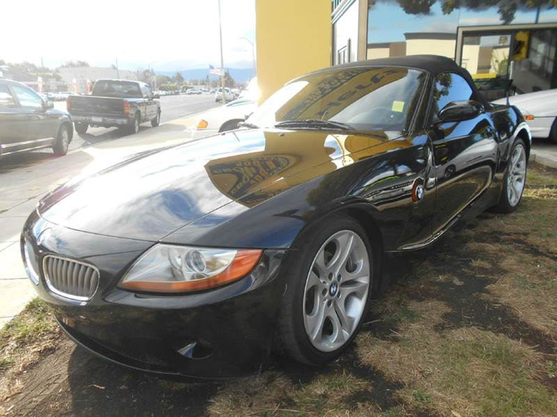 2003 BMW Z4 30I 2DR ROADSTER black abs - 4-wheel clock cruise control daytime running lights