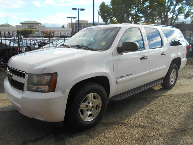 2007 CHEVROLET SUBURBAN LS 1500 4DR SUV white 2-stage unlocking doors abs - 4-wheel airbag deac