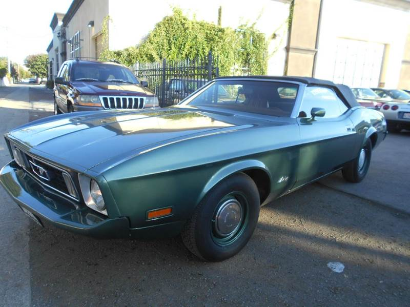 1971 FORD MUSTANG green 0 miles VIN 1111111111111must