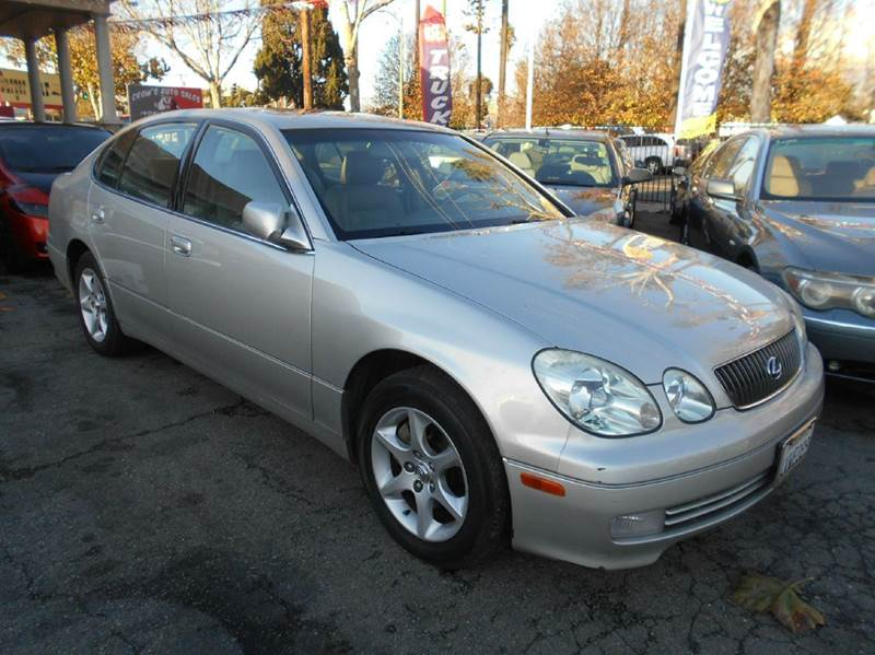 2002 LEXUS GS 300 silver air conditioning alarm system alloy wheels amfm radio wcd player a