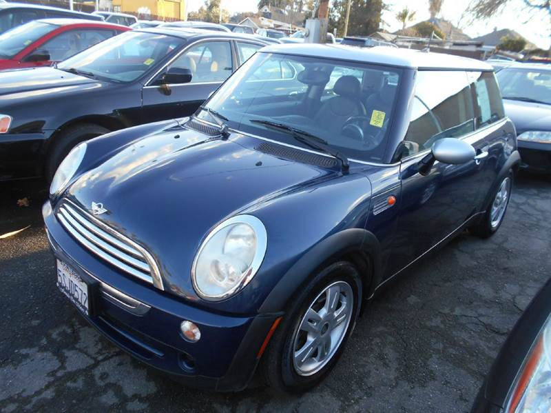 2006 MINI COOPER BASE 2DR HATCHBACK blue abs - 4-wheel air filtration airbag deactivation - occ