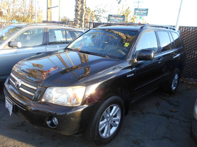 2006 TOYOTA HIGHLANDER HYBRID LIMITED 4DR SUV black abs - 4-wheel air filtration airbag deactiv