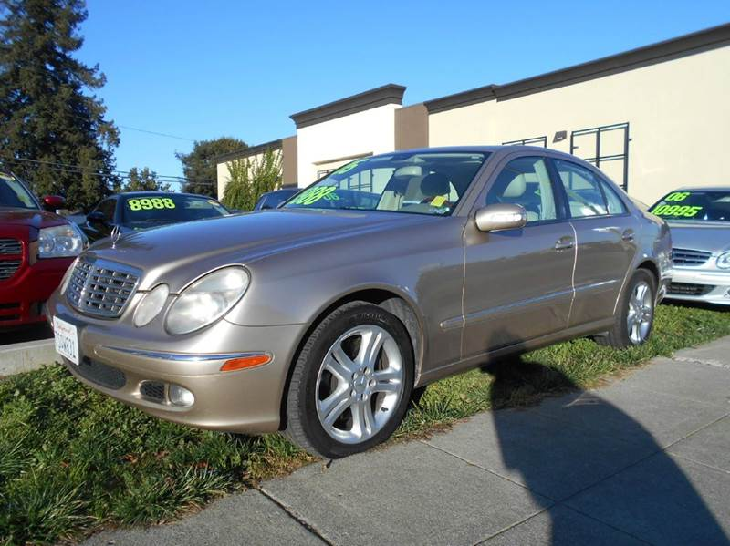 2005 MERCEDES-BENZ E-CLASS E 500 4MATIC AWD 4DR SEDAN gold abs - 4-wheel active suspension air
