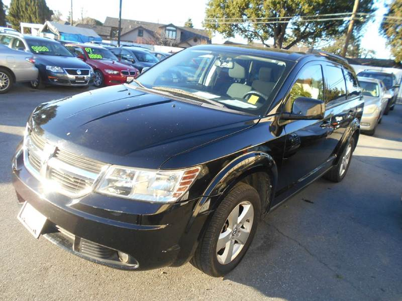 2010 DODGE JOURNEY SXT 4DR SUV black 2-stage unlocking doors abs - 4-wheel active head restrain