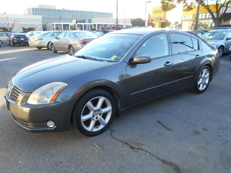 2006 NISSAN MAXIMA 35 SE 4DR SEDAN WAUTOMATIC gray abs - 4-wheel active head restraints - dual