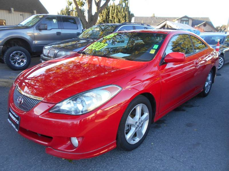 2006 TOYOTA CAMRY SOLARA SE SPORT V6 2DR COUPE red abs - 4-wheel air filtration airbag deactiva