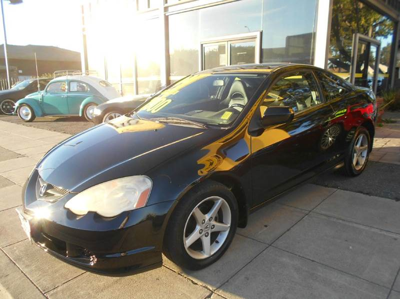 2004 ACURA RSX WLEATHER 2DR HATCHBACK WLEATHE black abs - 4-wheel anti-theft system - alarm c