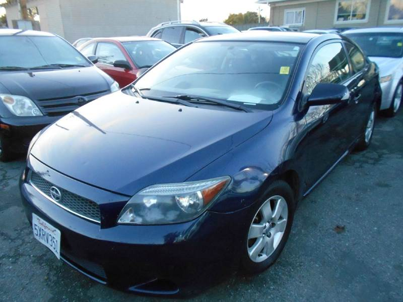 2007 SCION TC BASE 2DR HATCHBACK 24L I4 4A blue 2-stage unlocking doors abs - 4-wheel antenn