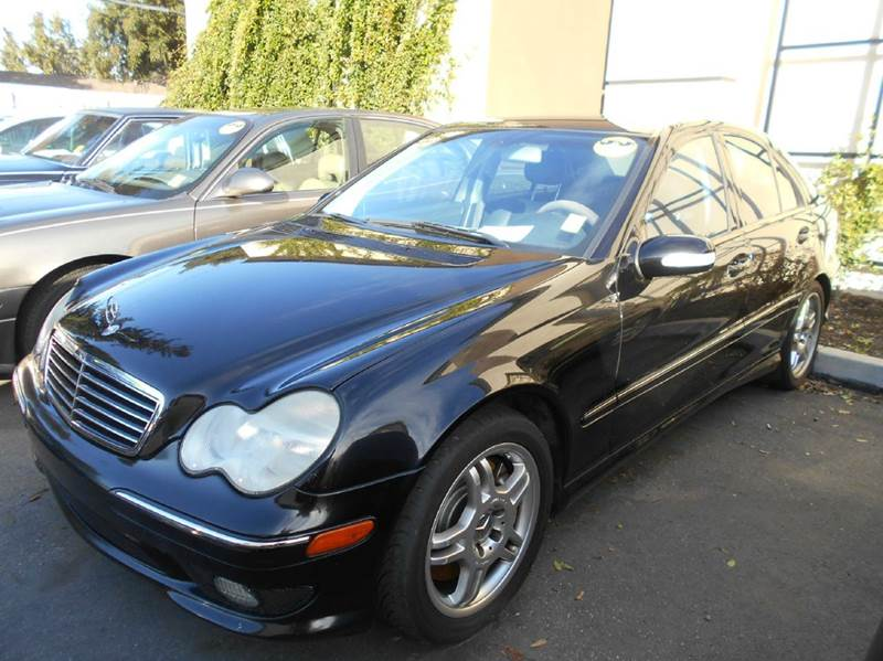2004 MERCEDES-BENZ C-CLASS C 32 AMG 4DR SEDAN black abs - 4-wheel anti-theft system - alarm cas