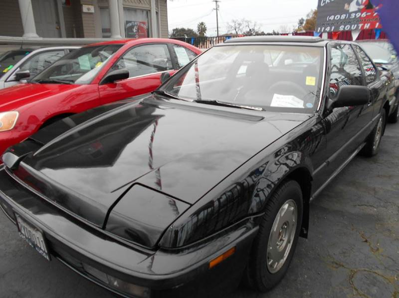 1991 HONDA PRELUDE SI 2DR COUPE black antenna type - power cassette center console clock crui