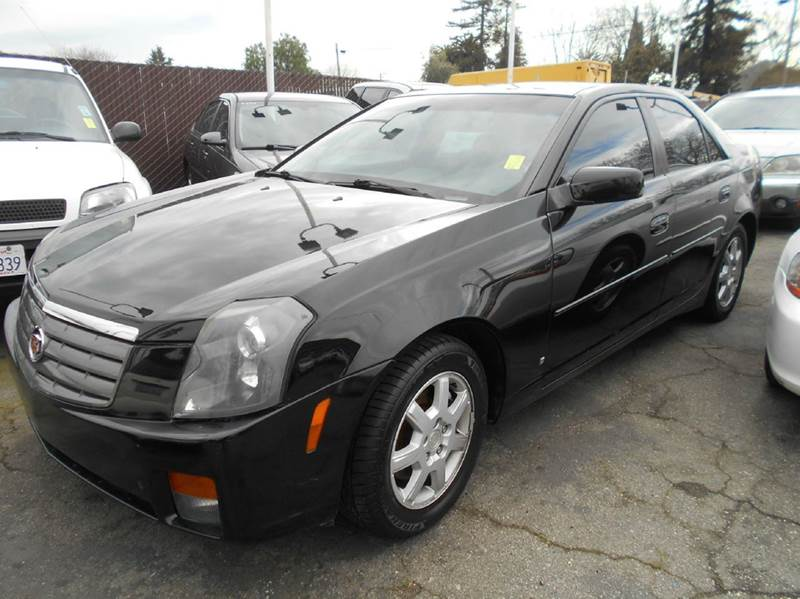 2006 CADILLAC CTS black air conditioning alarm system amfm radio wcd player anti-lock brakes