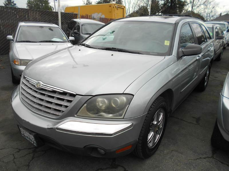 2004 CHRYSLER PACIFICA green air conditioning alarm system alloy wheels amfm radio wcd playe