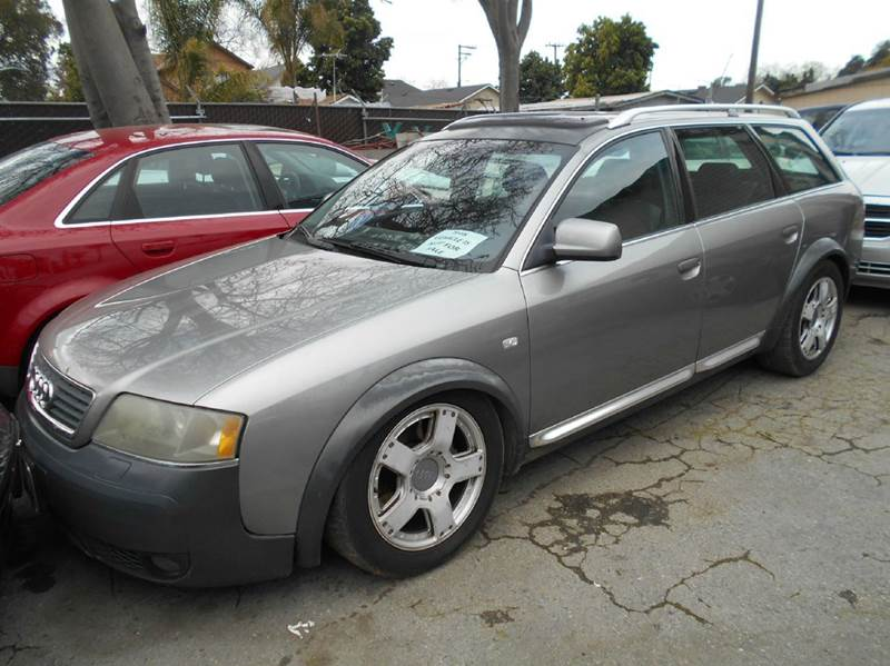 2002 AUDI ALLROAD QUATTRO gray air conditioning alarm system all wheel drive alloy wheels am