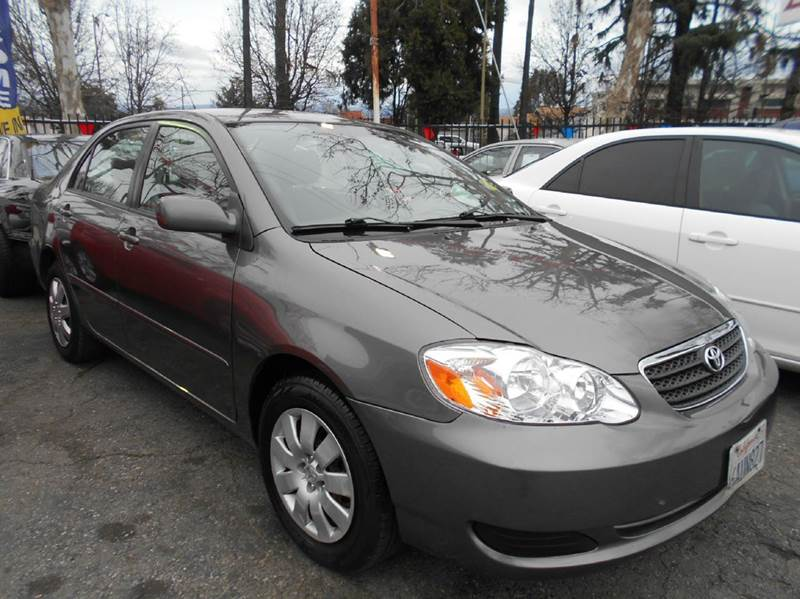 2008 TOYOTA COROLLA LE 4DR SEDAN 4A charcoal air filtration airbag deactivation - occupant sensi