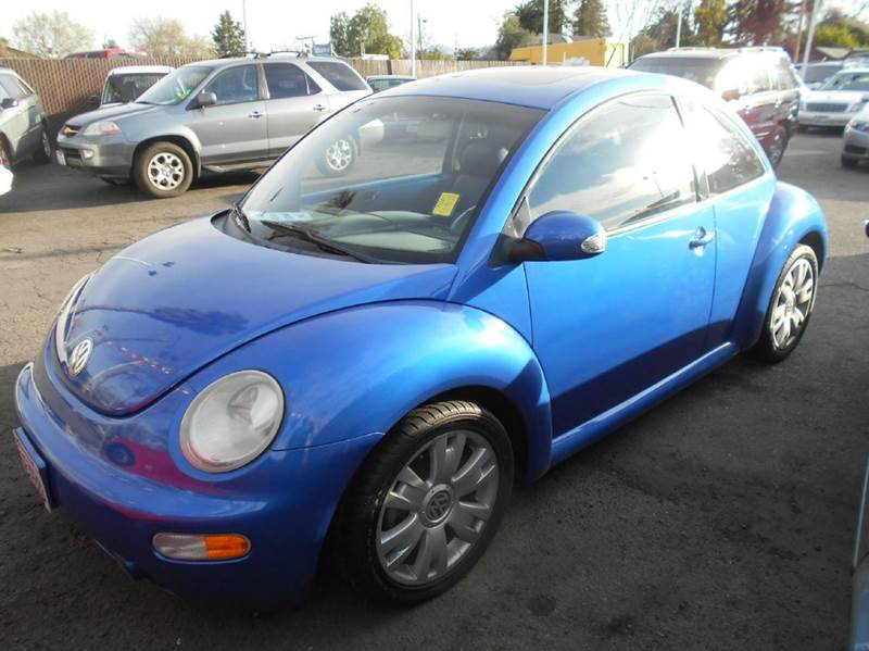 2003 VOLKSWAGEN NEW BEETLE GLS 18T 2DR TURBO HATCHBACK blue abs - 4-wheel anti-theft system - a