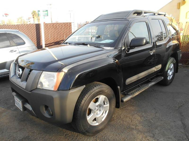 2006 NISSAN XTERRA S 4DR SUV WAUTOMATIC black abs - 4-wheel active head restraints - dual front