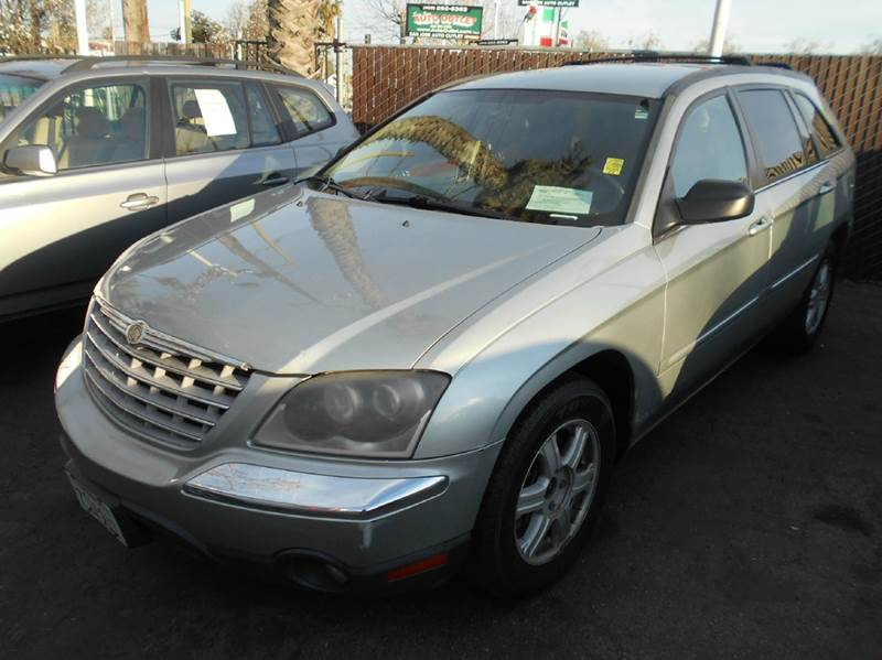 2004 CHRYSLER PACIFICA BASE AWD 4DR WAGON green abs - 4-wheel adjustable pedals - power anti-th