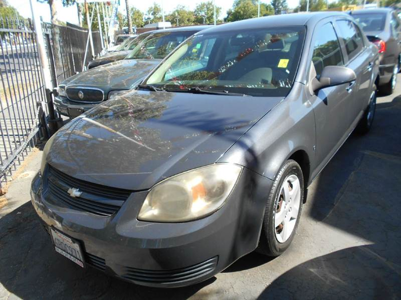2008 CHEVROLET COBALT LT 4DR SEDAN charcoal 2-stage unlocking doors air filtration airbag deact