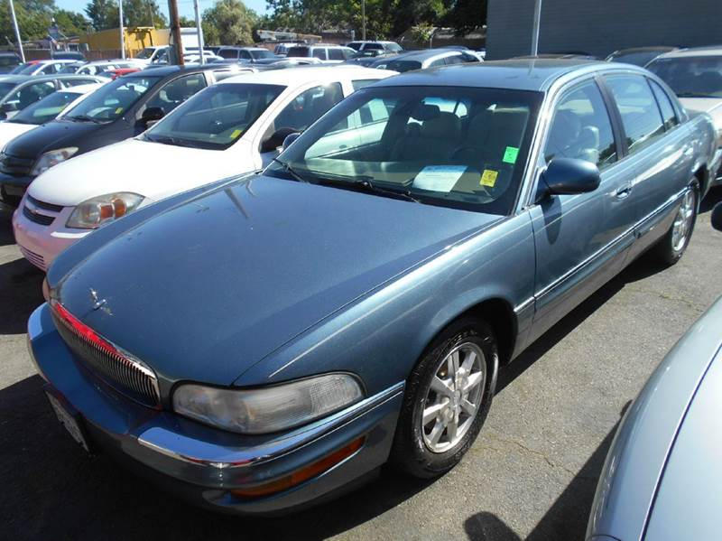 2001 BUICK PARK AVENUE BASE 4DR SEDAN blue abs - 4-wheel air suspension - rear anti-theft syste