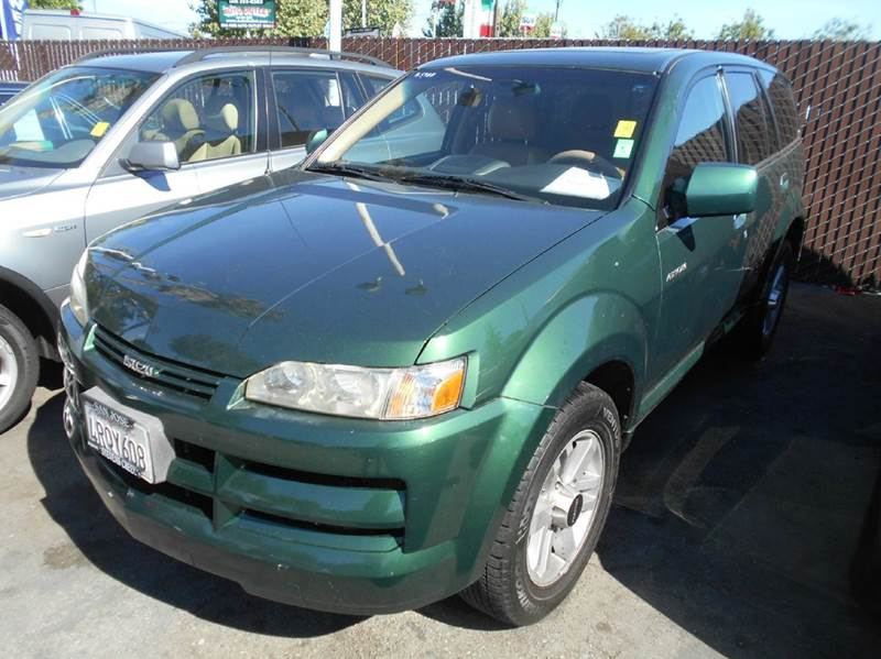 2002 ISUZU AXIOM BASE 2WD 4DR SUV green abs - 4-wheel anti-theft system - alarm axle ratio - 4
