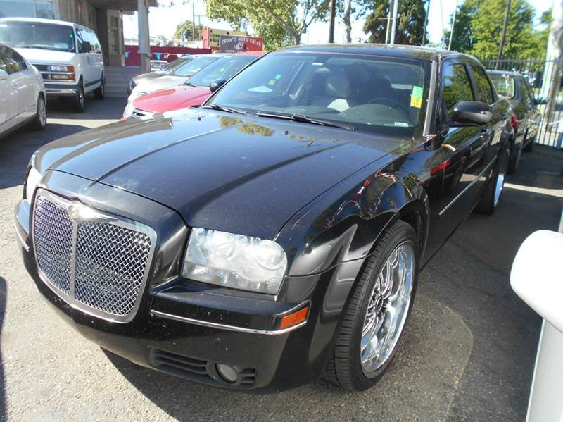 2007 CHRYSLER 300 TOURING 4DR SEDAN black 2-stage unlocking doors abs - 4-wheel airbag deactiva