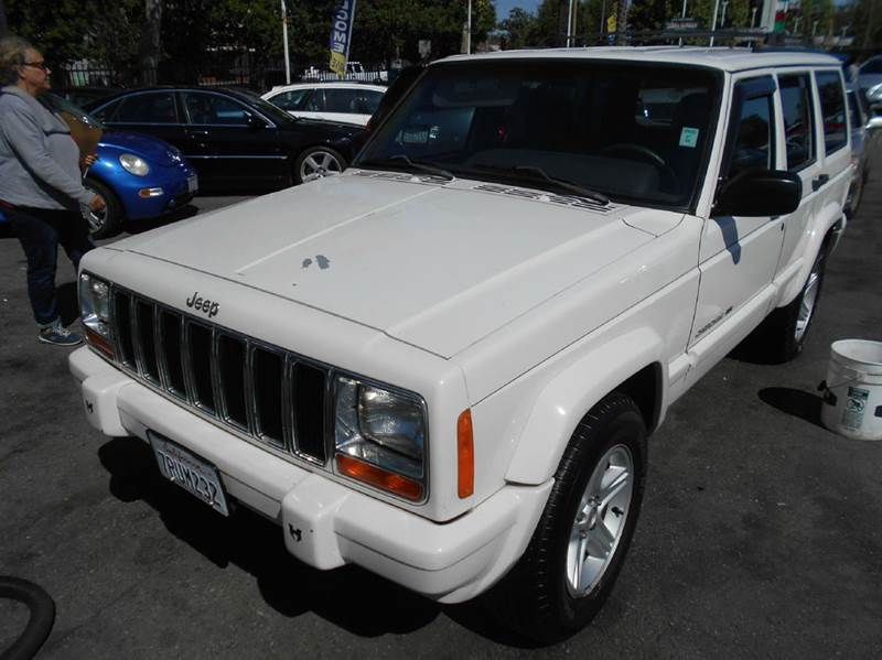 2000 JEEP CHEROKEE LIMITED 4DR SUV white axle ratio - 355 cassette center console cruise cont