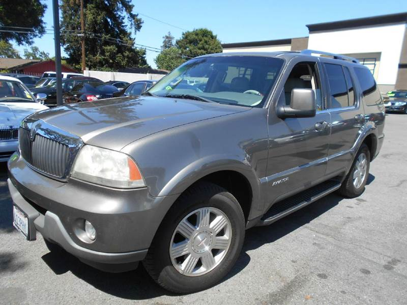 2003 LINCOLN AVIATOR LUXURY 4DR SUV gold abs - 4-wheel adjustable pedals - power anti-theft sys