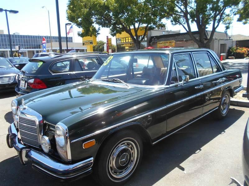 1973 MERCEDES-BENZ 280-CLASS 280 green 0 miles VIN 11111111111111280