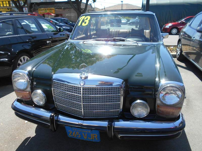 1973 mercedes benz 280 class 280 in san jose ca crow s for Mercedes benz san jose