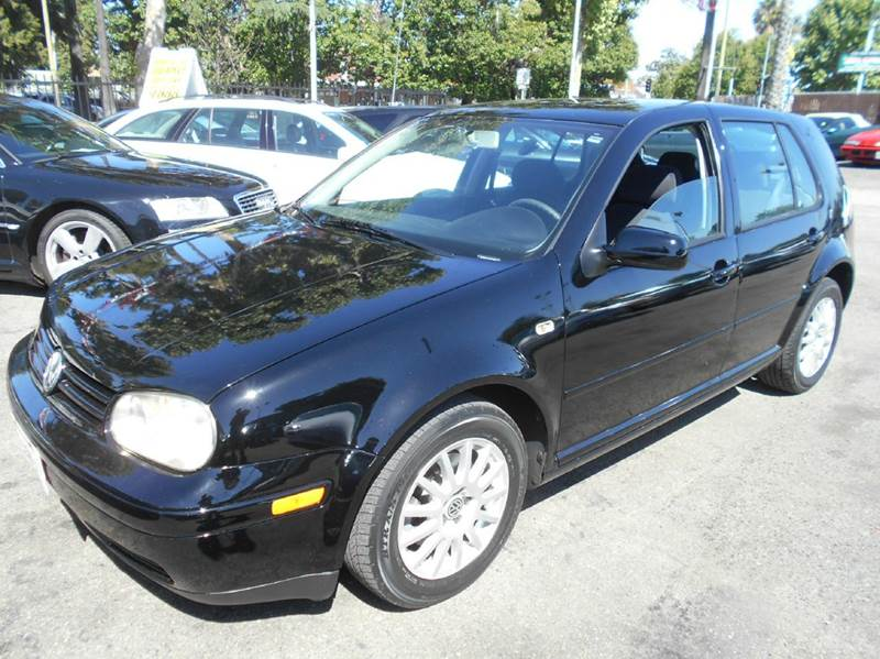 2003 VOLKSWAGEN GOLF GLS 4DR HATCHBACK black abs - 4-wheel anti-theft system - alarm center con