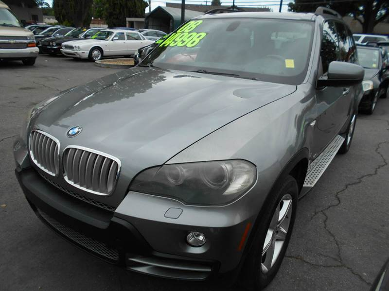 2008 BMW X5 48I AWD 4DR SUV gray 2-stage unlocking doors 4wd type - full time abs - 4-wheel a