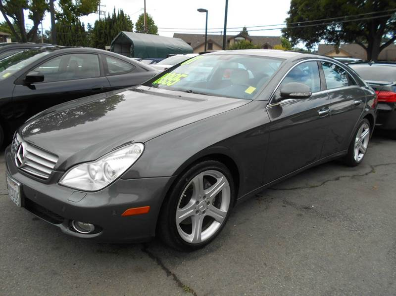 2007 MERCEDES-BENZ CLS CLS 550 4DR SEDAN charcoal 2-stage unlocking doors abs - 4-wheel active