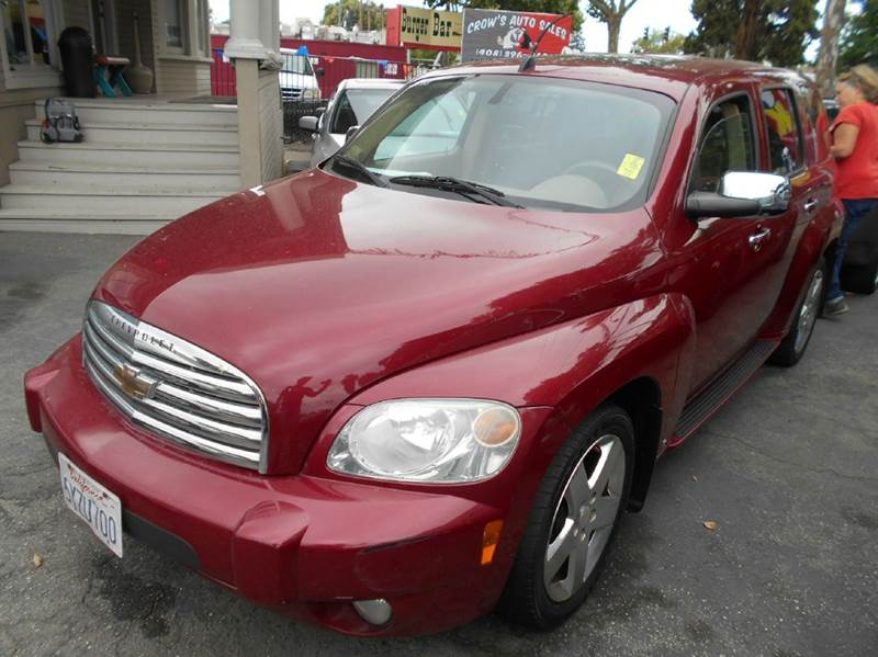 2006 CHEVROLET HHR LT 4DR WAGON red air filtration airbag deactivation - occupant sensing passen