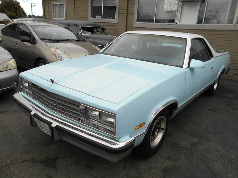1987 CHEVROLET EL CAMINO blue power steering power windows 54000 miles VIN 3GCCW80H4H5904714